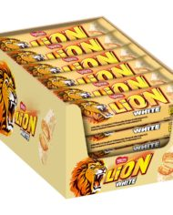 Lion white Riegelbox